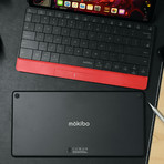 US Mokibo + Smart Cover (Red)