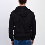 Hooded Jacket // Black (S)