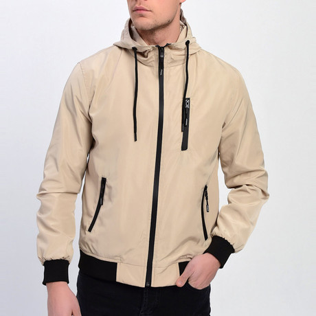 Hooded Jacket // Cream (S)
