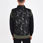 Camo Printed Vest // Green (XL)