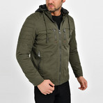 Utility Jacket // Green (2XL)