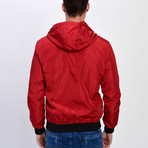 Hooded Jacket // Red (XL)