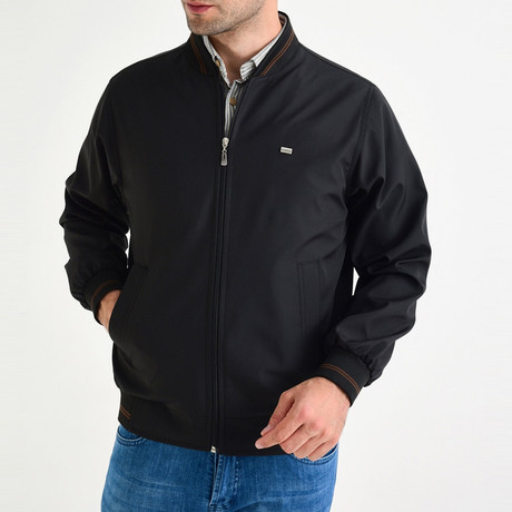 Light Bomber Jacket // Black (S)