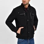 Twill Motto Jacket // Black (2XL)