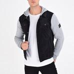 Shirt Vest Jacket // Black (XL)