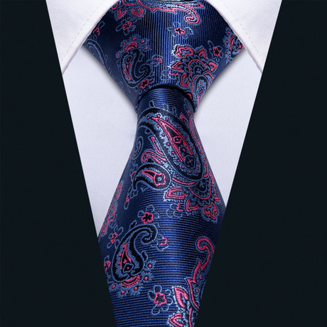 Dream Handmade Silk Tie // Navy