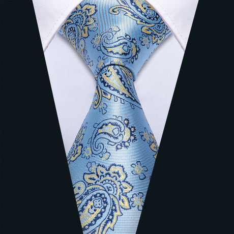 Haven Handmade Silk Tie // Light Blue