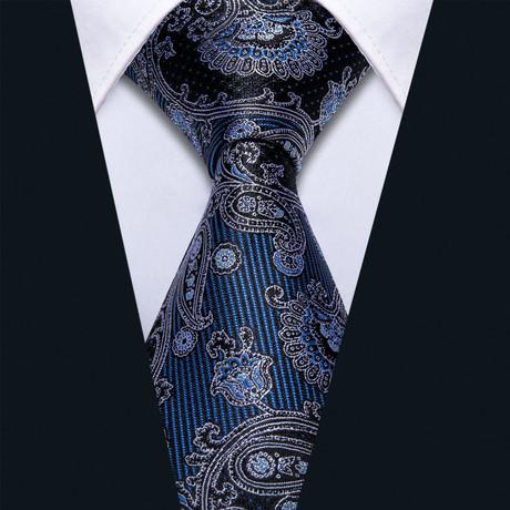 Rhyme Handmade Silk Tie // Navy