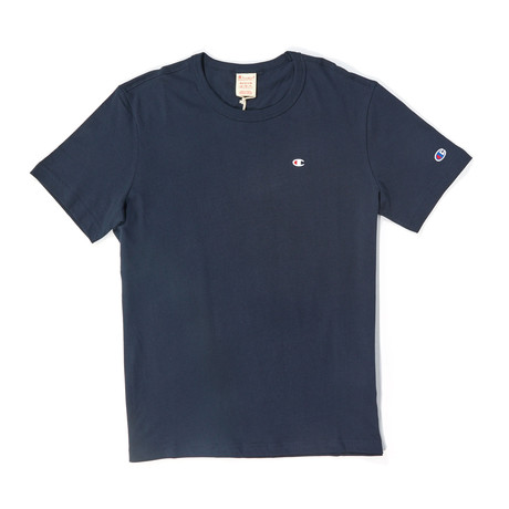 Short Sleeve Crew Tee // Navy (S)