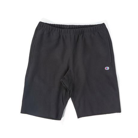 Reverse Weave Shorts // Black (S)