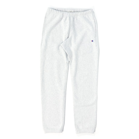 Reverse Weave Elastic Cuff Pants // Oxford Gray (S)