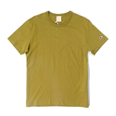 Little C T-Shirt // Olive Khaki (XS)