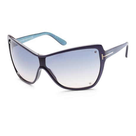 Women's FT0363-86U Ekatrina Sunglasses // Blue + Blue Gradient