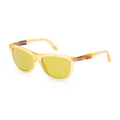 Men's FT0500-41N-54 Andrew Sunglasses // Yellow + Green