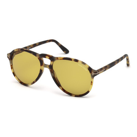 Men's FT0645-56E-57 Lennon Sunglasses // Havana