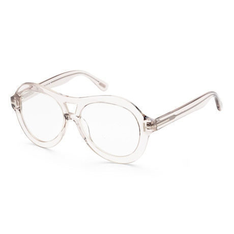 Women's FT0514-074-56 Islay Sunglasses // Crystal Light Pink + Light Gray