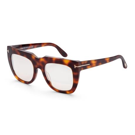 Women's FT0687-53Z-51 Thea Sunglasses // Blonde Havana