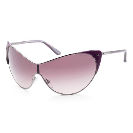 Women's FT0364-80Z Vanda Sunglasses // Lilac + Purple Gradient