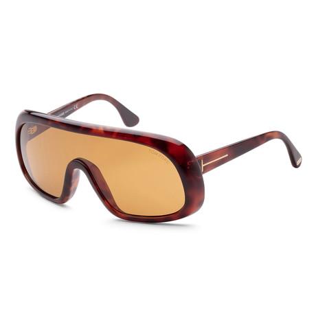 Men's FT0471-56E Sven Sunglasses // Havana + Brown