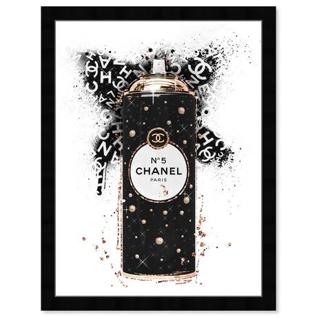 """Fashion Spray Noir (26""""H x 20""""W x 0.5""""D)"""