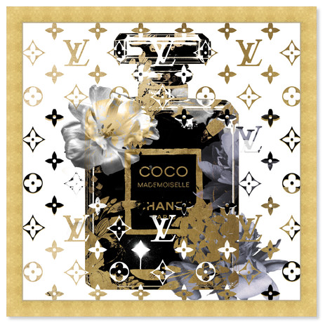 """Coco Blinded Love Blue (22""""H x 22""""W x 0.5""""D)"""