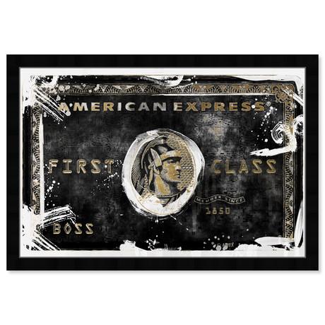 """Black Card Living (22""""H x 32""""W x 0.5""""D)"""