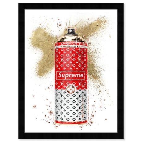 "Glam Spray Gold (26""H x 20""W x 0.5""D)"