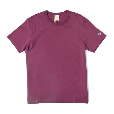 Little C T-Shirt // Cranberry Mauve (S)