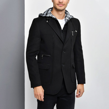 Denali Coat // Black (Small)