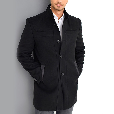 Crestone Overcoat // Black (Small)