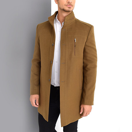 Dublin Overcoat // Camel (Small)