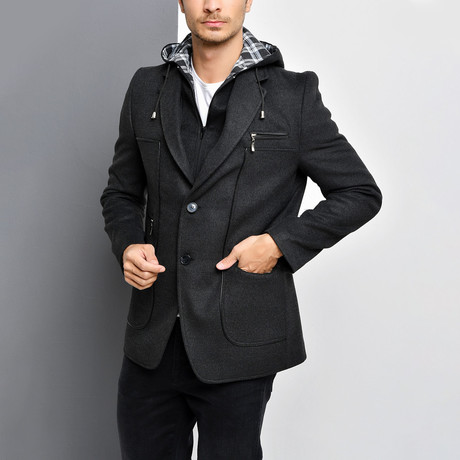 Denali Overcoat // Anthracite (Small)