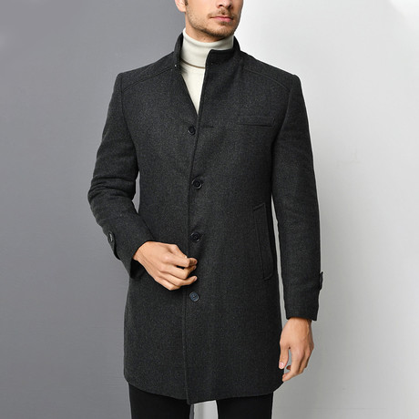 Appalachian Overcoat // Anthracite (Small)