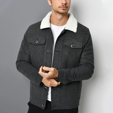 Capitol Coat // Anthracite (Small)