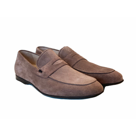 Soft Suede Casual Loafer // Taupe (US: 7)