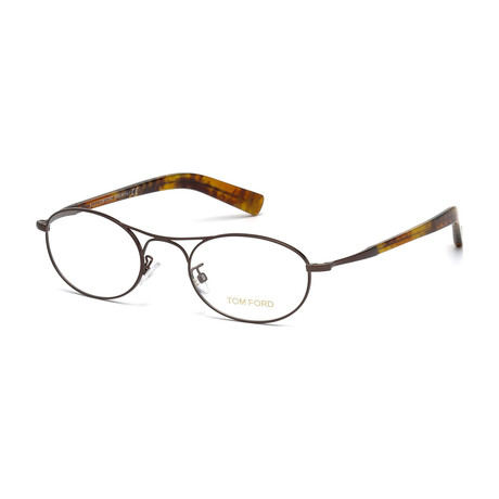 Tom Ford // Men's Optical Frames // Brown + Havana