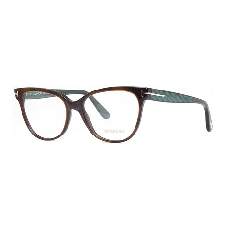 Women's Optical Frames // Dark Havana + Teal