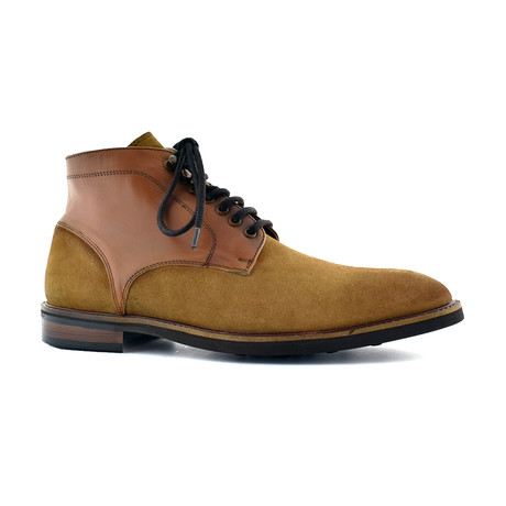 Cruz Lace Boot // Tan (Euro: 40)