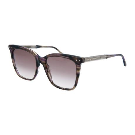Women's Square Sunglasses // Tortoise + Brown