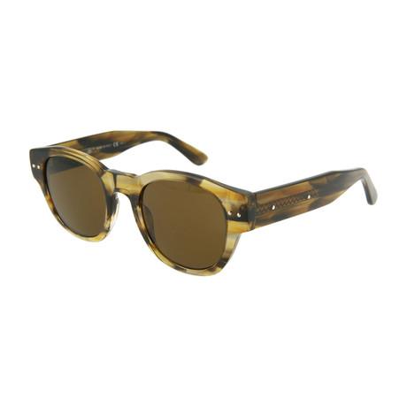 Unisex Square Sunglasses // Brown