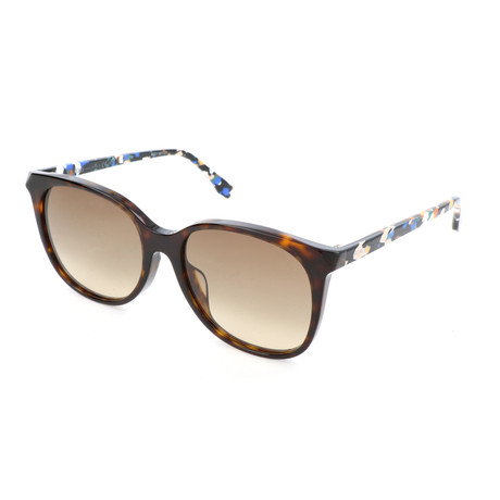 Women's 0172 Sunglasses // Dark Havana + Multicolor