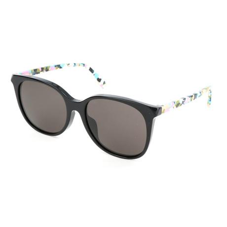 Women's 0172 Sunglasses // Black + Multicolor
