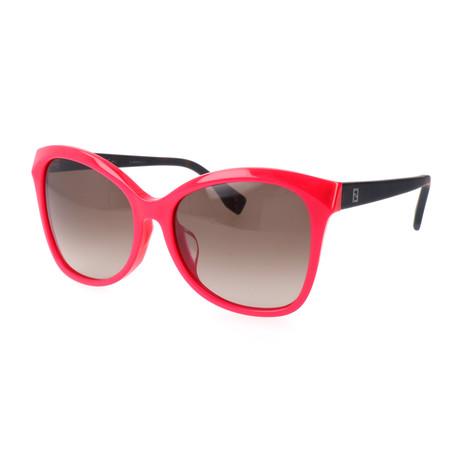 Women's 0043 Polarized Sunglasses // Fuchsia + Dark Havana