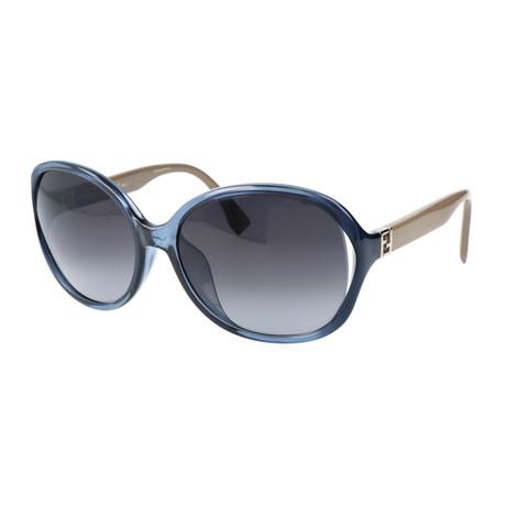 Women's 0032 Sunglasses // Blue + Gray