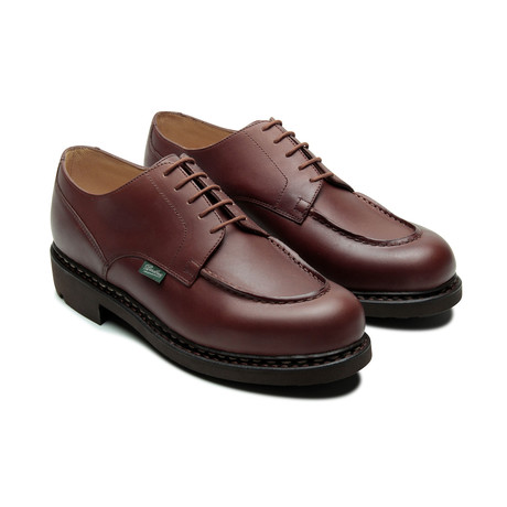 Chambord Laced Platform 5-Eyelet Derby // Mid Brown (US: 7)