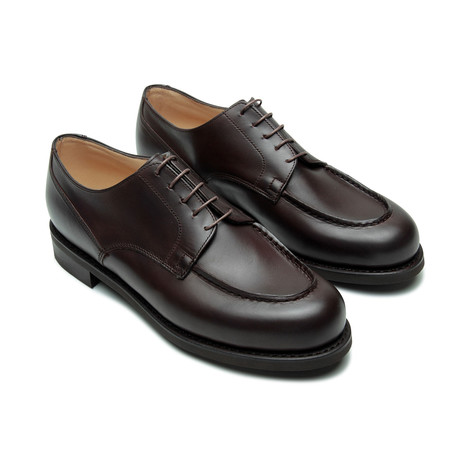 Chambord Laced Platform 5-Eyelet Derby // Dark Brown (US: 7)