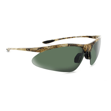 Unisex Silencer Polarized Sunglasses // Matte Camo