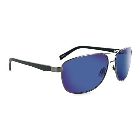 Unisex Balos Polarized Sunglasses // Shiny Gunmetal