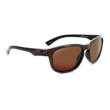 Unisex Kapalua Polarized Sunglasses // Shiny Driftwood
