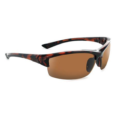 Unisex Mauzer Polarized Sunglasses // Shiny Dark Demi